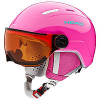 Горнолыжный шлем Head Maja Visor pink 2020, фото 1