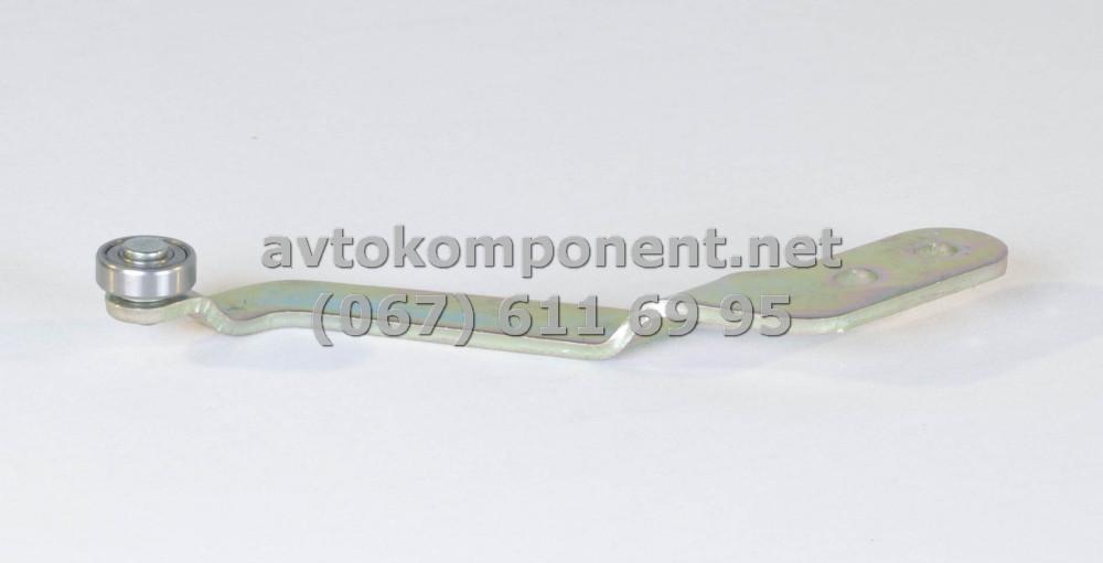 Ролик двери сдвигатель ГАЗ 2705,3221,2217 нижний с рычагом (производство ГАЗ) (арт. 2705-6426270), ABHZX