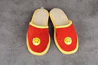 Детские тапочки, тёплые комнатные тапочки, комнатная обувь, размер 19, 23, фото 1