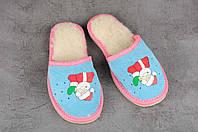Детские тапочки, тёплые комнатные тапочки, комнатная обувь, размер 21, фото 1