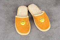 Детские тапочки, тёплые комнатные тапочки, комнатная обувь, размер 22, фото 1