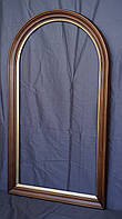 Арочная рама для зеркала из массива дерева