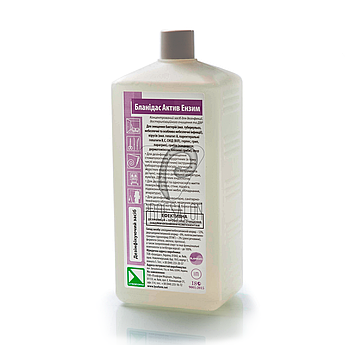 Бланидас Актив Энзим 1л, универсальные дезинфицирующие средства для поверхностей и инструментов