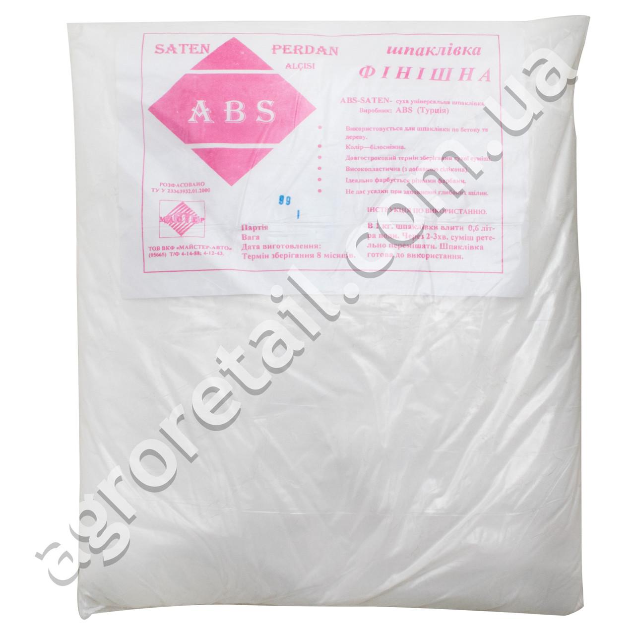 Шпаклевка финишная ABS 1 кг