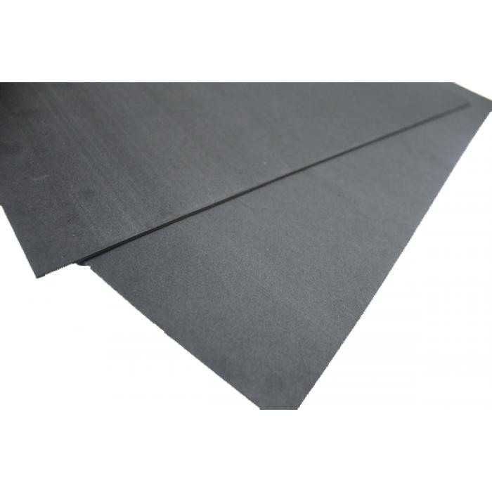 Фоамиран 2мм, 20х30 см, черный