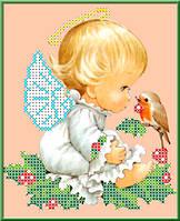 Набор для вышивания бисером «Разговор с птичкой»