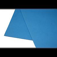 Фоамиран 2мм, 20х30 см, голубой