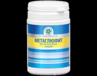 """Метаглюфит -  нормализация углеводного обмена"""" (60капс.,Франция)"""