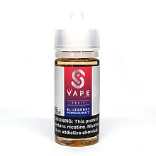 Жидкость для электронных сигарет USA Vape Lab Blueberry Pomegranate 3 мг 100 мл