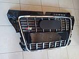 Решітка радіатора Audi A3 стиль S3, фото 2
