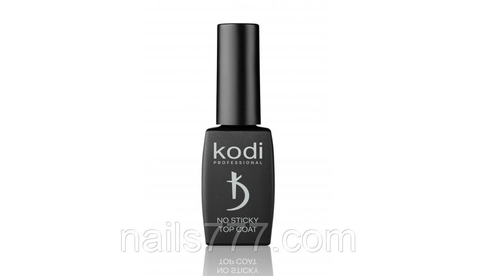 Каучукове верхнє покриття для гель лаку(топ/фініш) без липкого шару Kodi 8 мл