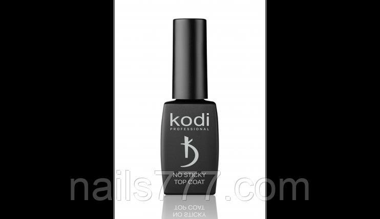 Каучукове верхнє покриття для гель лаку(топ/фініш) без липкого шару Kodi 8 мл, фото 2