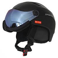 Гірськолижний шолом Sporten Pro-Visor black 2019, фото 1