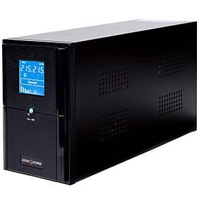 ИБП LogicPower LPM-UL1100VA, Lin.int., AVR, 3 x евро, USB, металл, фото 2