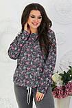Трикотажный костюм женский Двунитка Размер 48 50 52 54 56 В наличии 2 цвета, фото 2