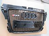 Решетка радиатора Audi A3 2008-2011, фото 4