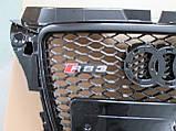 Решетка радиатора Audi A3 2008-2011, фото 3
