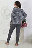 Трикотажный костюм женский Двунитка Размер 48 50 52 54 56 В наличии 2 цвета, фото 6