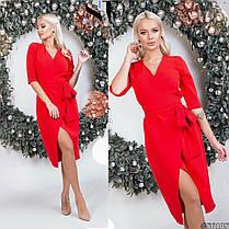 Платье разрез в расцветках 48406, фото 3