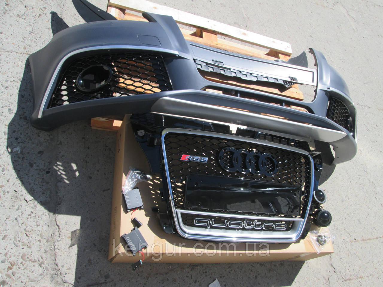 Передний бампер Audi A3 8P