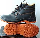 Ботинки рабочие зимние с мет. носком, 39 - 47 р, с мехом из Польши, фото 2