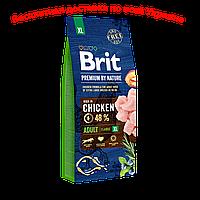 Brit premium Dog Adult XL Брит премиум эдалт ИксЛ корм для собак гигантских пород
