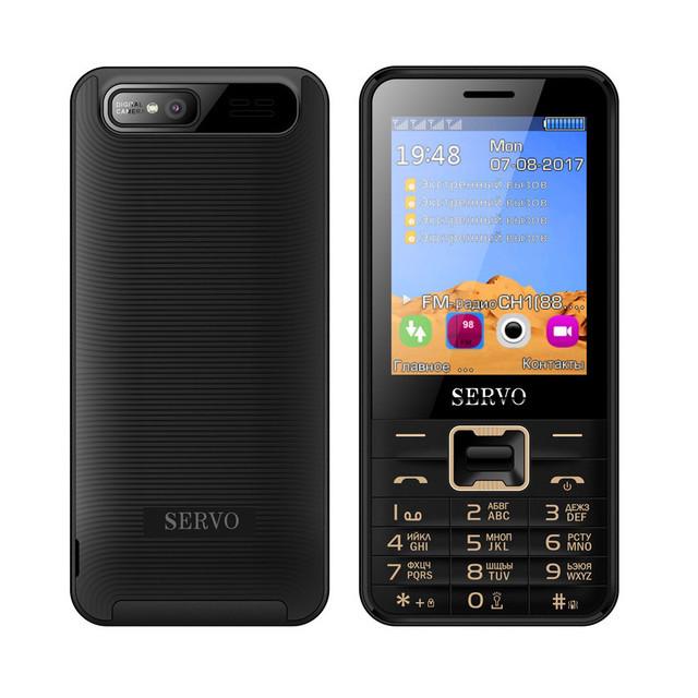 Мобільний телефон Servo V8100 смартфон на 4 Sim -карти +чохол в подарунок