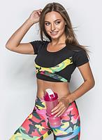 Женский тренировочный топик для фитнеса, для спорта, модель 31