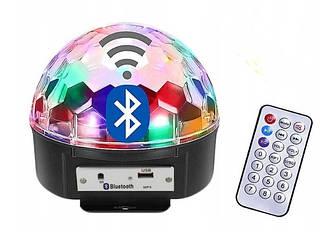 Светодиодный диско шар Crownberg CB-0305 Magic Ball LED Bluetooth MP3