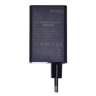 Сетевое зарядное устройство KFD Qualcomm Quick Charge 3.0, 3 порта USB