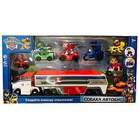 Игровой набор Paw Patrol Транспортировщик для автомобилей с героями