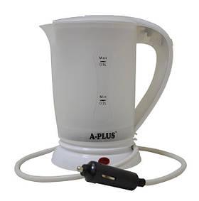 Электрочайник автомобильный A-plus 1518 12v Белый (006332)