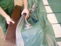 Повна заміна клапана на надувному човні ПВХ (Колібрі, Барк) своїми руками