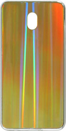 Накладка Xiaomi Redmi8A rainbow Chameleon Glass, фото 2