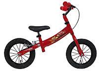 Беговой велосипед DISNEY Auta 12 red