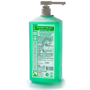 Жидкое мыло Бланидас Софт Дез 1л, профессиональное, для гигиеничесской дезинфекции рук и кожи