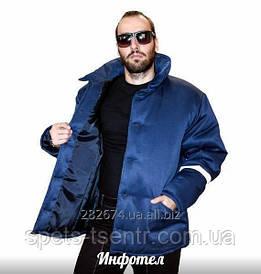 Куртка утепленная, зимняя, рабочая, на синтепоне