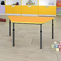 Стол детский трапеция регулируемый по высоте 20×20 в 25×25