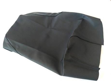 Чехол сиденья HONDA DIO AF-56/57/63 SMART черный, черный кант SOTKA, фото 2