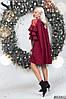 Платье рюши в расцветках 48351, фото 5