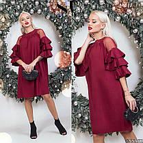 Сукня рюші в кольорах 48351, фото 2
