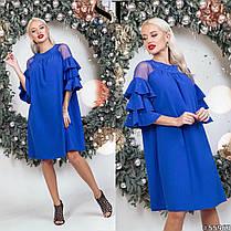 Сукня рюші в кольорах 48351, фото 3