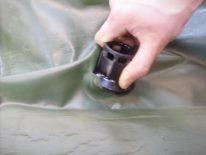 Повна заміна клапанів на надувний човен ПВХ своїми руками