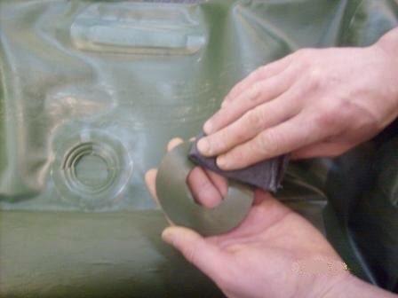 Повна заміна клапана на човні ПВХ - ремонт човнів