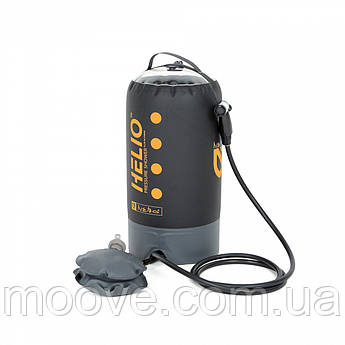 Nemo Helio Pressure Shower Black/Sunset