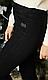 Женские утепленные джеггинсы, джинс на флисе,  р 44,48 черный (1864) жіночі теплі, фото 4