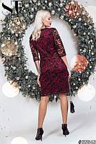 Сукня з блискітками в кольорах 48353, фото 3