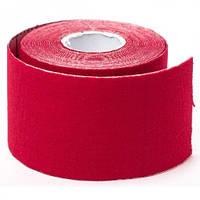 Кинезио тейп спортивный Sports Therapy Kinesiology Tape, 5 см х 5 м (красный), фото 1