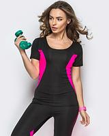 Женская тренировочная футболка для фитнеса, для спорта, модель 25