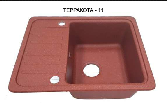 Раковина гранитная кухонная   9-062